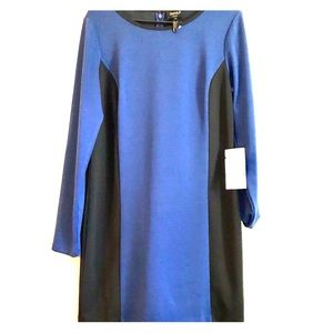 NWT SHELLI SEGAL SHIFT COLORBLOCK DRESS